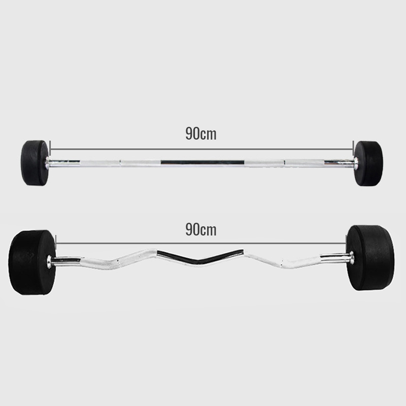 Fixed Weight Curl Straight Barbell Nutroone